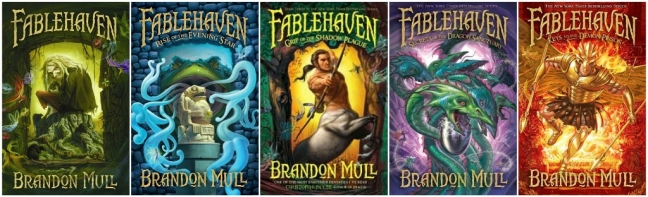 Fablehaven collage