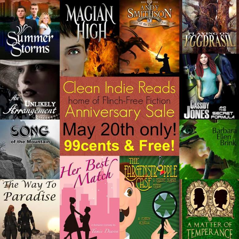 clean indie reads sale
