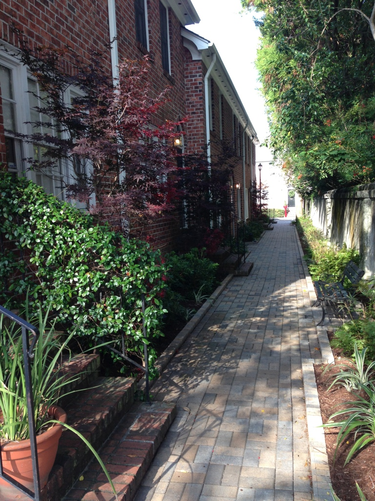 Alley in Charleston.
